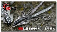 nymfa RED BASS - natur 10ks